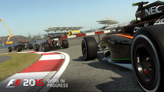 F1 2015 chega ao Brasil em 24 de julho